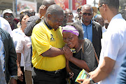 FILE: President Cyril Ramaphosa in Port Shepston in preparation for  the January 8  Statement.
