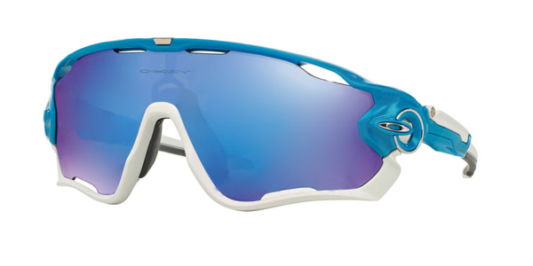 Oakley Jawbreaker in Polished White and Jade Iridium