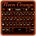 Neon Orange Keyboard icon