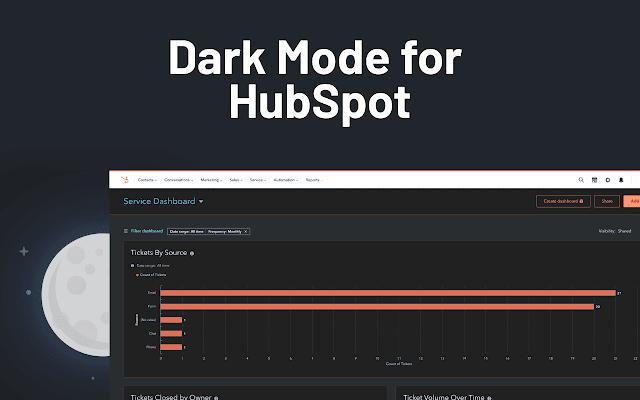 Dark Mode for HubSpot
