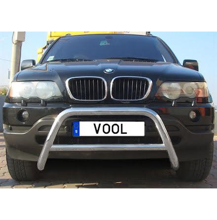 BMW X5 2000-2006 Mindre frontbåge