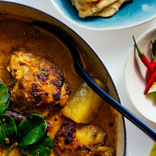 Malaysian Chicken Curry.