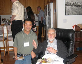 Photo: PROFESSORS JACK XIN AND DUNCAN LUCE