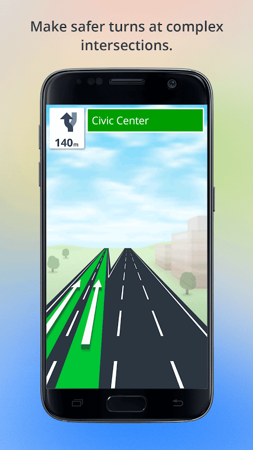 Screenshots of GPS Navigation for iPhone