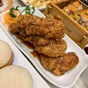 A4. Crispy Chicken Wings with Honey Garlic (6 pieces)