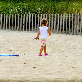Beach Bum by Cindy Lowther - Babies & Children Children Candids