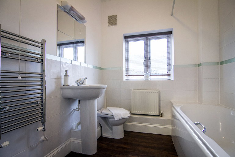 Bathroom at Perceval House