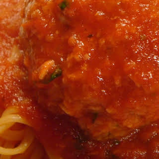 Classic Spaghetti And Meatballs For A Crowd -- Or The Freezer.