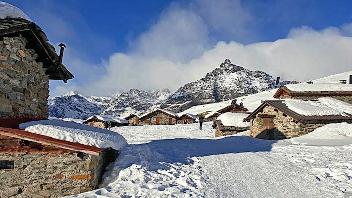 Neve in Valmalenco.... di Giuseppe Loviglio