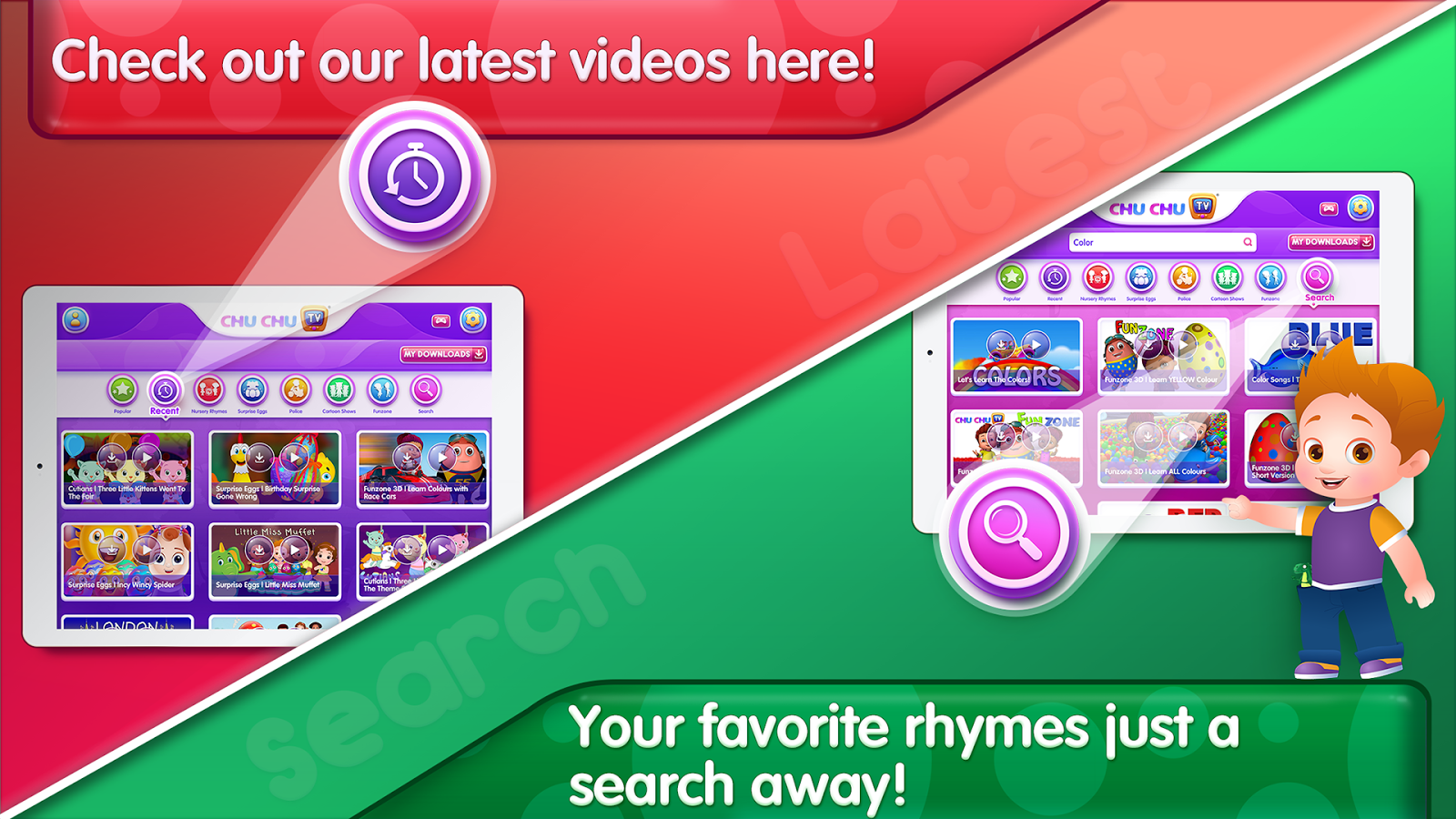 ChuChu TV Nursery Rhymes Pro- screenshot