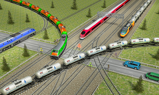 Indian Train City Pro Driving- Oil Tanker Train 4 screenshots 1