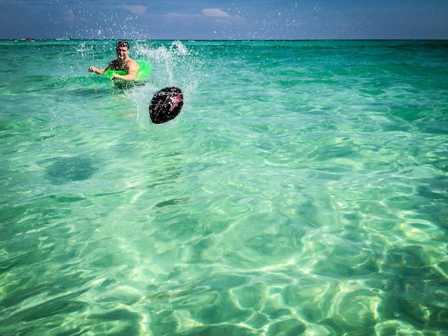 by John Spain - Instagram & Mobile iPhone ( clear, ball, splash, lifeproof, ocean, iphone )