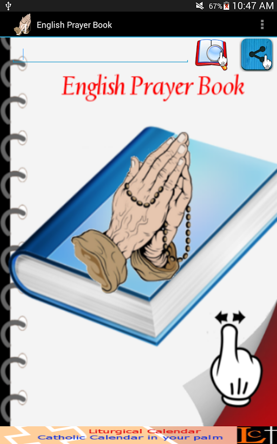 English Prayer Book- screenshot