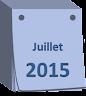 agenda juillet 2015