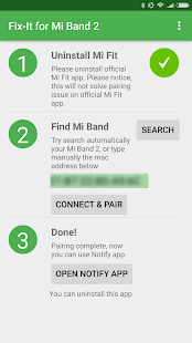 Fix-it for Mi Band 2 Screenshot