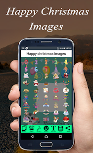 Happy christmas images frame free - náhled