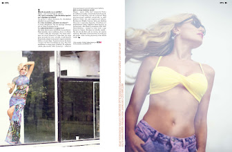 Photo: Hofit Golan covered K Mag in July/August! What do you think?