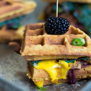Sweet & Savory Waffle Benedict Sliders