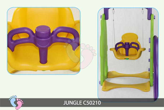 Cầu trượt cho bé Jungle C50210 11