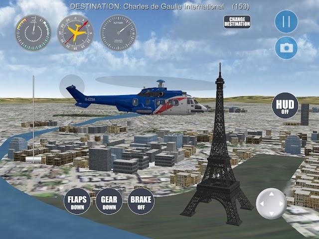 android Airplane Paris Screenshot 8