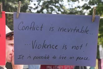 Photo: Conflict is inevitable...