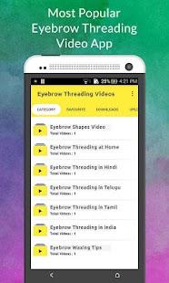 Eyebrow Threading Videos - náhled