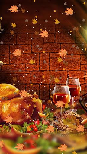 Thanksgiving Live Wallpaper - Autumn Theme