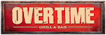 Logo for Overtime Grill and Bar