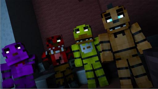 Fear Night Mod Minecraft