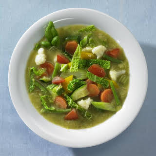 Low Fat Vegetable Soup.