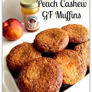 Peach Cashew GF Muffins Recipe
