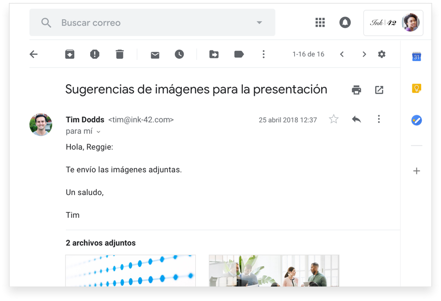 Disfruta de correo electrónico personalizado con el formato @tuempresa.com