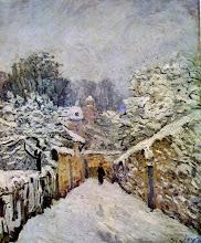 "Photo: Alfred Sisley, ""Neve a Louveciennes"" (1878)"