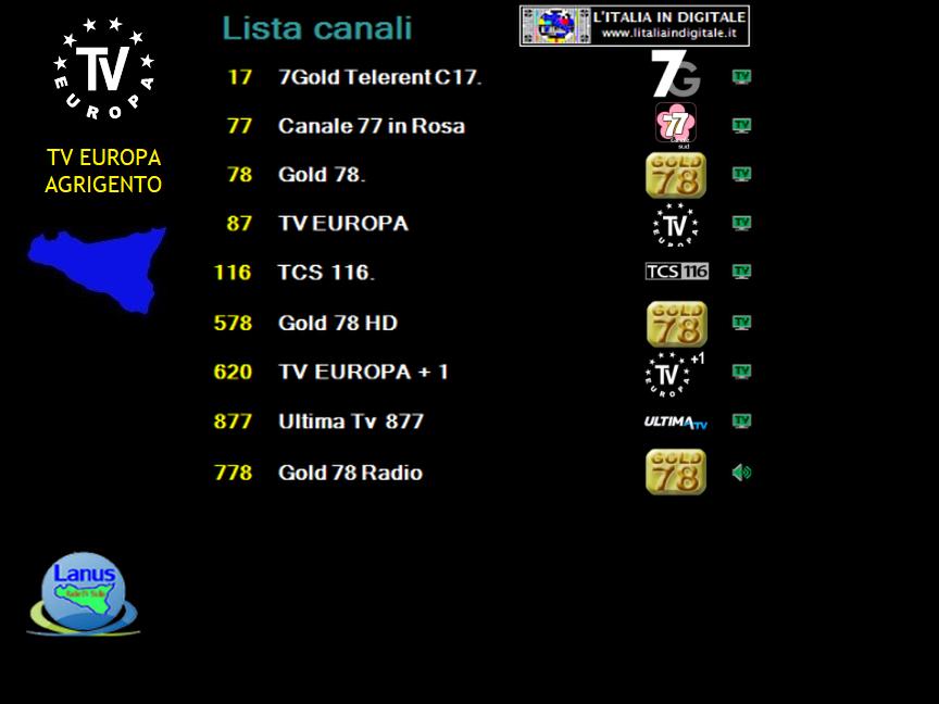 MUX TV EUROPA