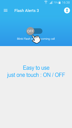 Flash blink on Call, all messages & notifications 8.9 screenshots 3