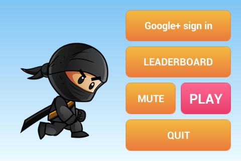 Ninja Rush Kid