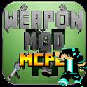 Weapon Mods MCPE Pe 0.14.0 icon