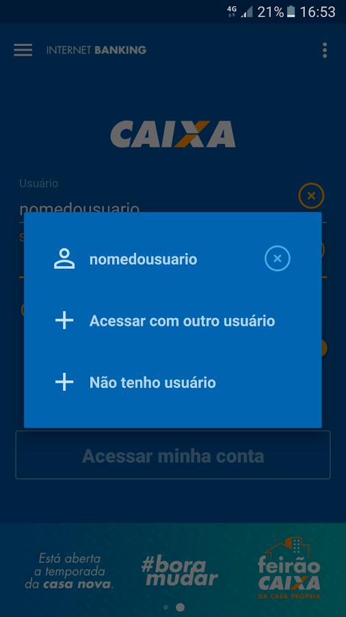 Screenshots of CAIXA for iPhone