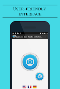 Business Card Reader for Salesforce CRM- screenshot thumbnail