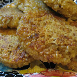 Parmesan Herb Rice Cakes