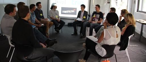 Photo: Atelier Transform'Acteur pour le groupe HappyChic