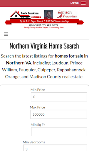 Northern Virginia Home Search