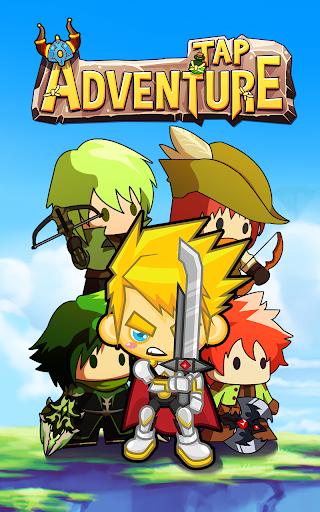 Tap Adventure Hero: Idle RPG Clicker, Fun Fantasy poster
