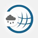 RegenRadar - mit Unwetterwarnung icon
