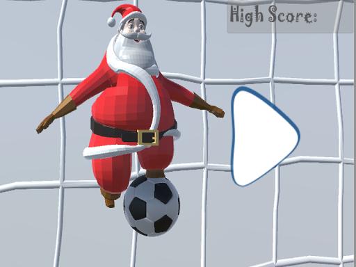 Santa Goalkeeper