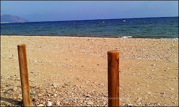 Photo: la plus grande plage de MAZZARON