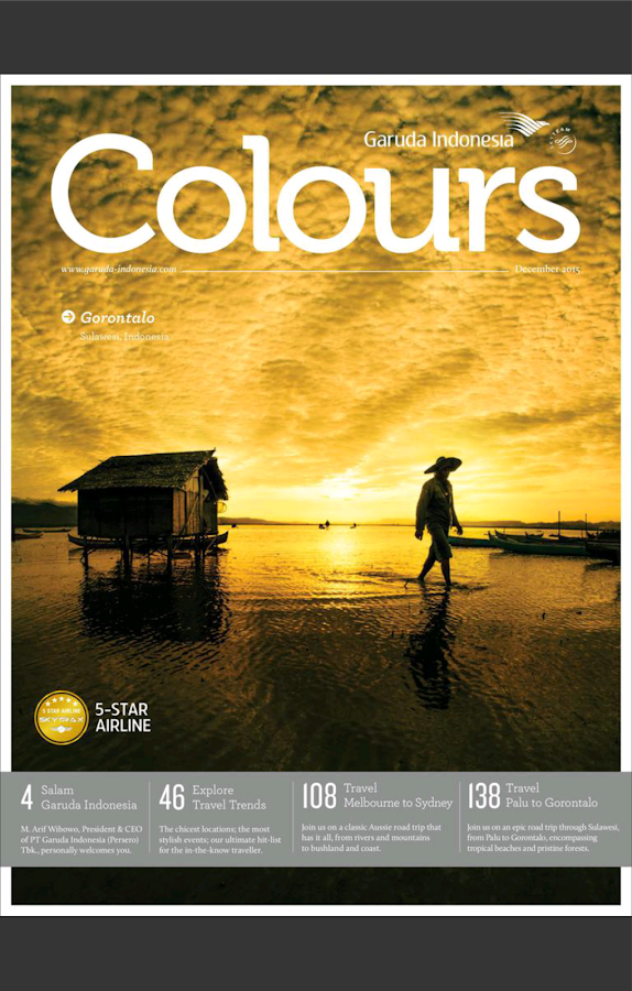 Colours Magazine- screenshot