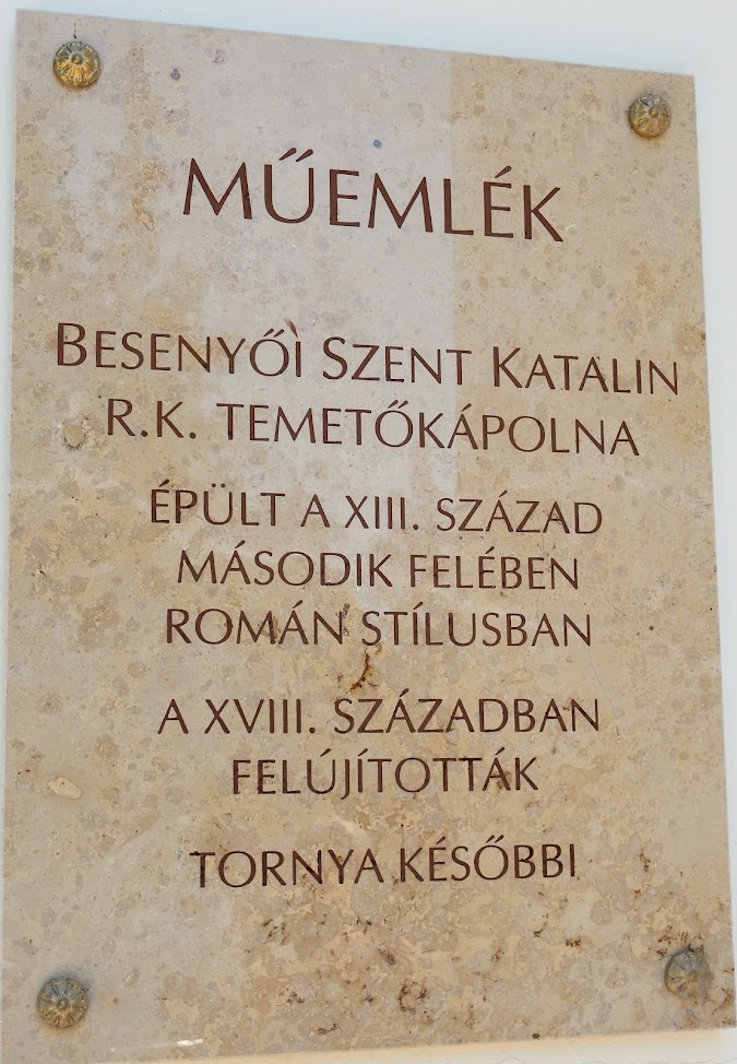 Zalaegerszeg - Besenyői Szent Anna rk. temetőkápolna