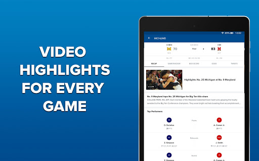 CBS Sports App - Scores, News, Stats & Watch Live 9.75 Screenshots 12