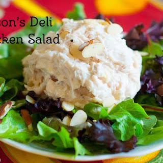 Jason's Deli Chicken Salad.